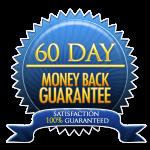 60 days money back guaranteed