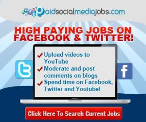 Paid Social Media Jobs