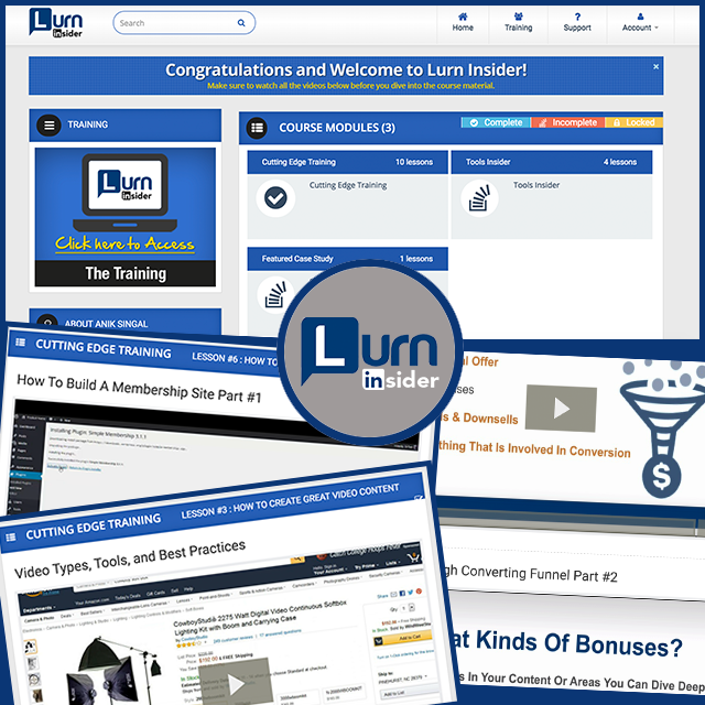 LurnInsider  features