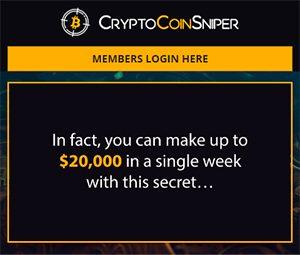 Crypto Coin Sniper Review