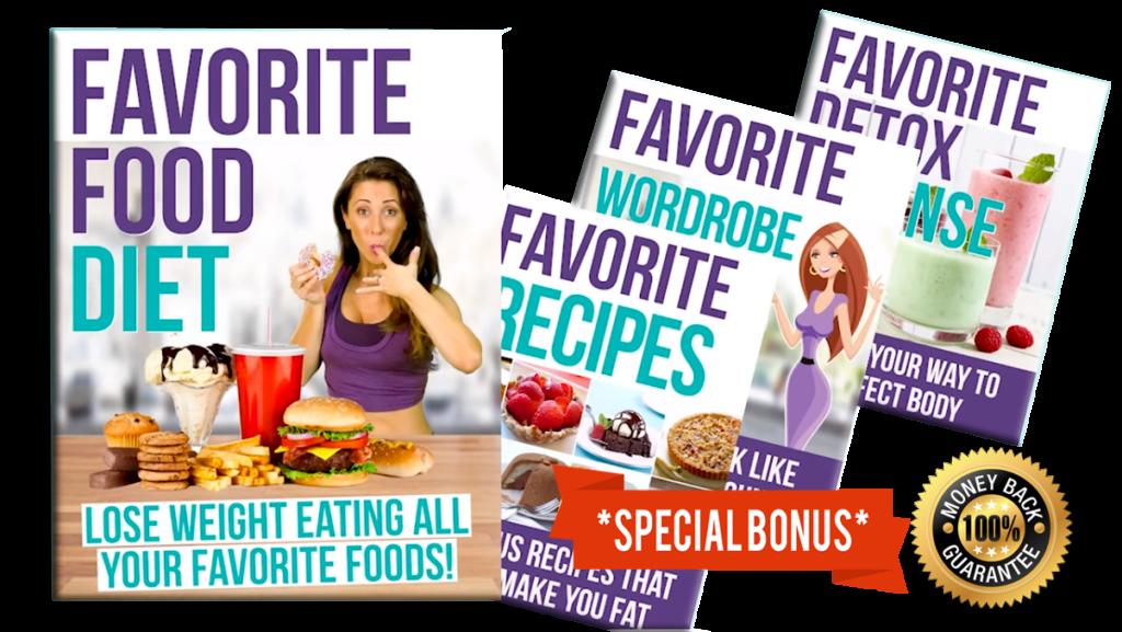 favorite food diet book