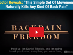 Danial Tillsdate's BackPain Freedom Review